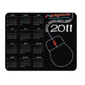 tapis de souris personnalisé calendrier