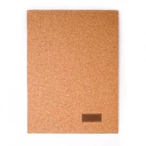 Porte document personnalisé en liège