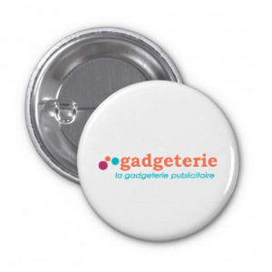 badge à épingle personnalisé