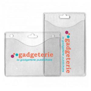Porte étiquette badge