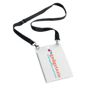 porte badge sécurité