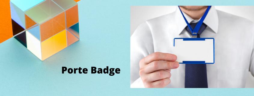 badge & porte badge
