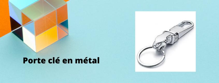 Porte clé en métal